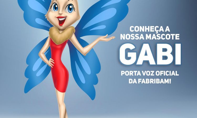 Conheça a Gabi, mascote da Fabribam Gabinetes