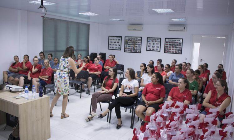 Dia Internacional da mulher foi celebrado com palestra