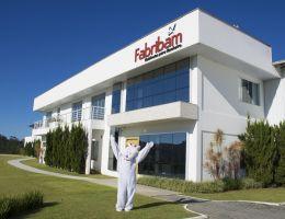 Coelho da Páscoa visitou a Fabribam